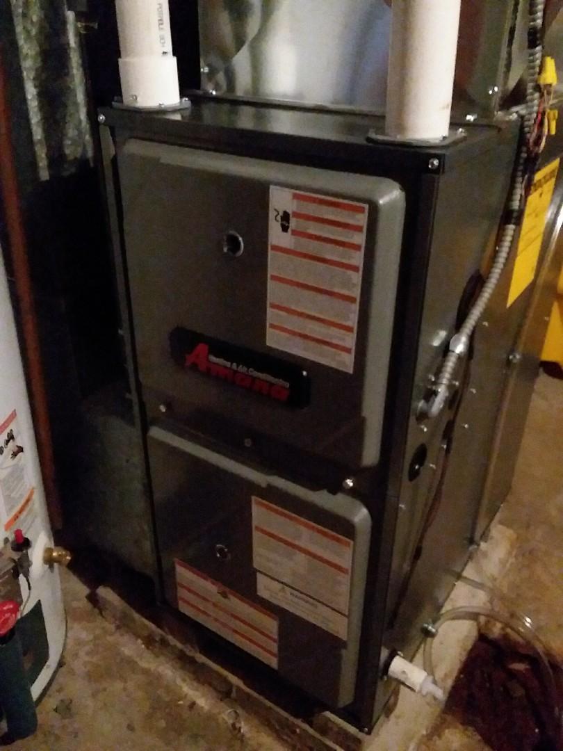 Madison, WI - Amana furnace installation