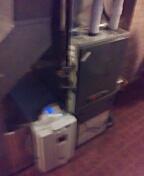 Madison, WI - Trane furnace cleaning.