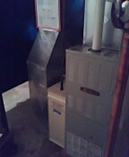 Madison, WI - Trane furnace cleaning and service.