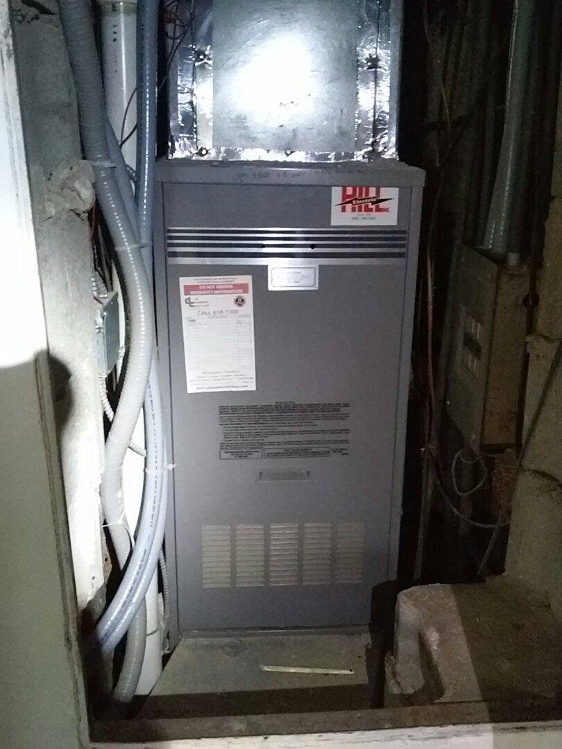 Madison, WI - Heil furnace cleaning and maintenance.