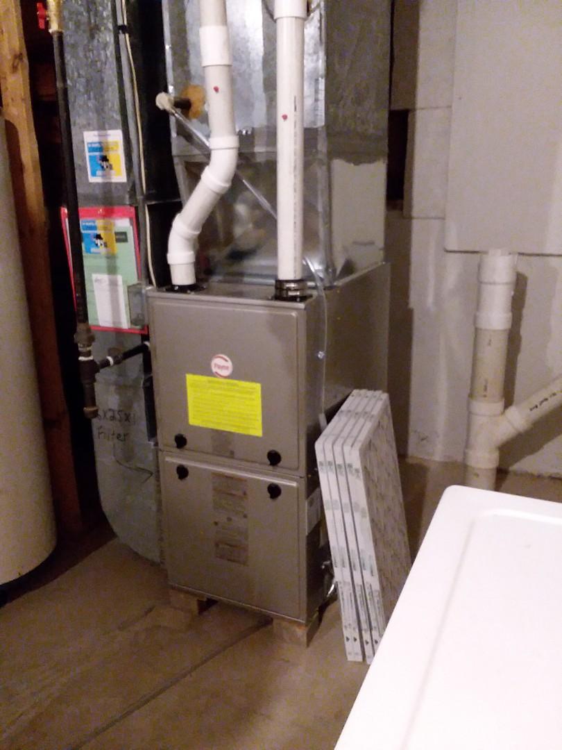 Waunakee, WI - Payne furnace installation