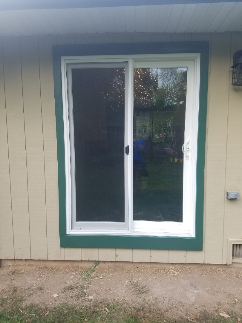 Appleton, WI - Took out a window and put in this soft lite kings royal patio door