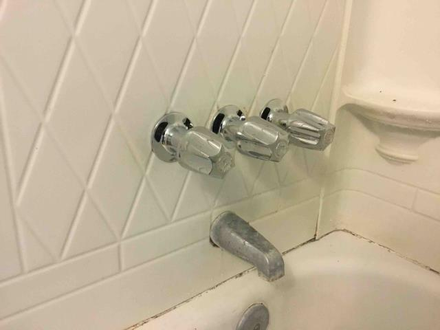 Anaheim, CA - Rebuild 3 handle price pfister shower tub valve in front bathroom