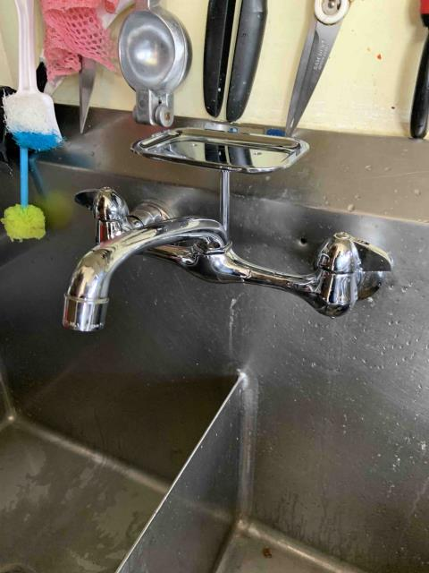 Tustin, CA - Two faucets in 1st floor women's restroom replaced. No issue found with toilet.
