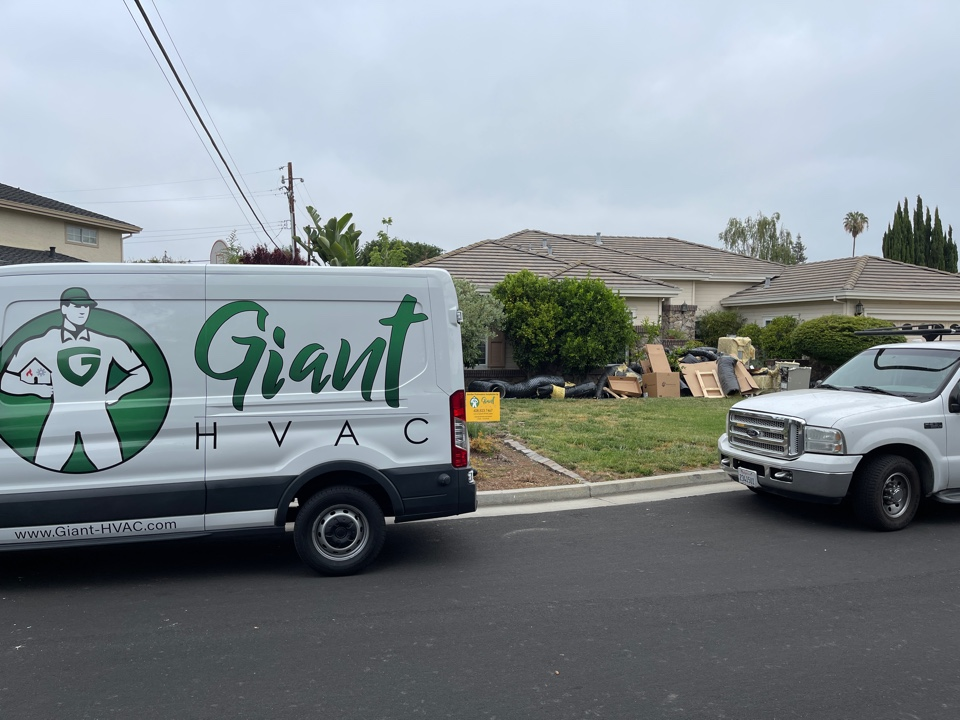 Saratoga, CA - Removal and replacing of existing 2 systems and installing all new large high efficiency heating and cooling system with 2 electronically controlled zones with all new designed duct system.