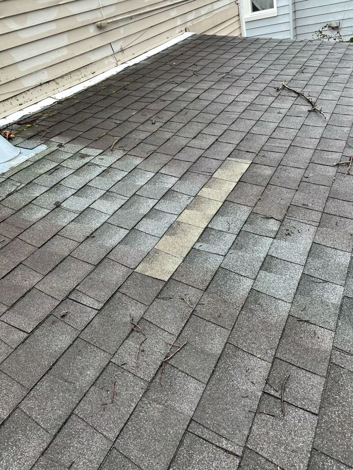 Norfolk, VA - Repair shingle and gutter with downspouts