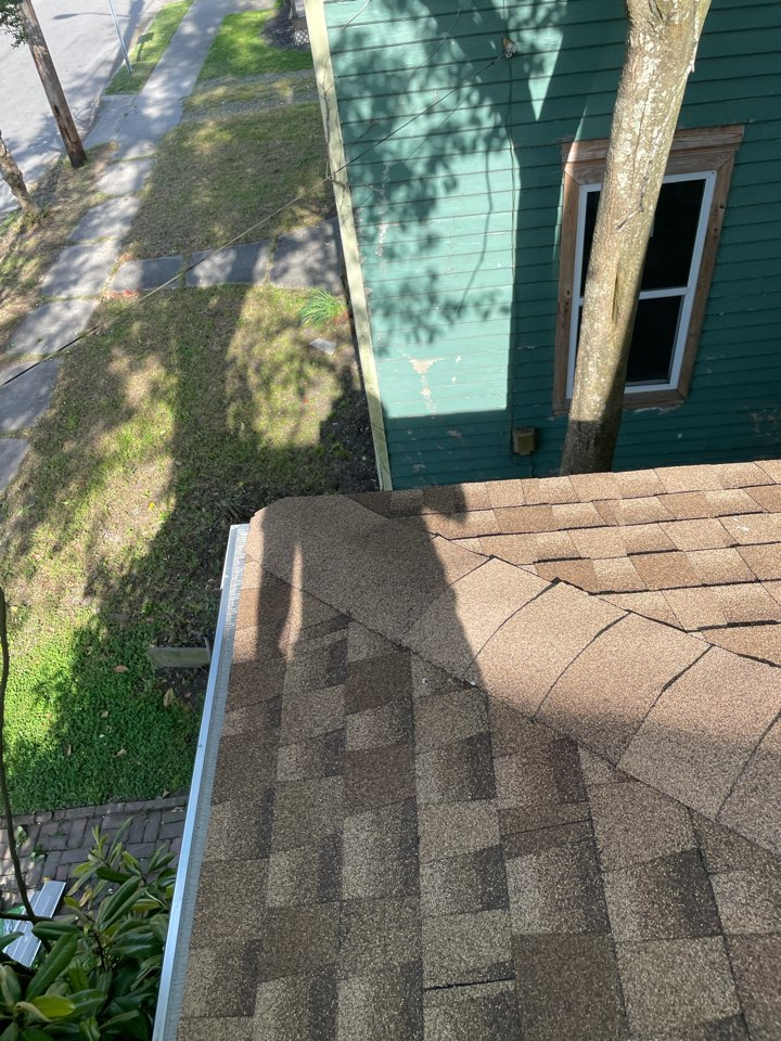 Elizabeth City, NC - Just completed a roof repair and gutter installation