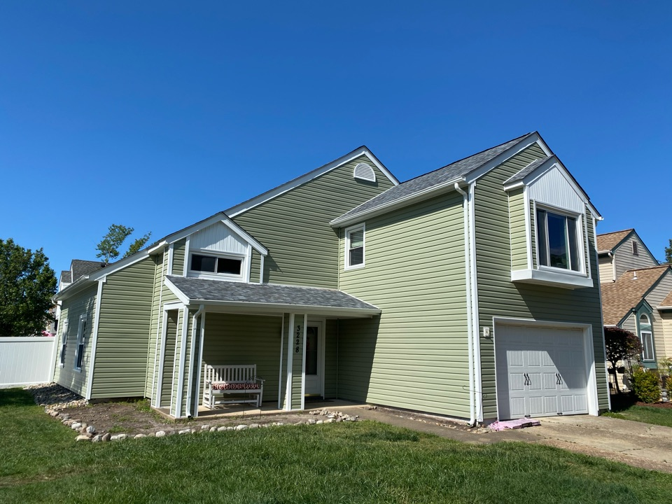 Virginia Beach, VA - Just finished new roof replacement, new siding trim soffit and gutters complete