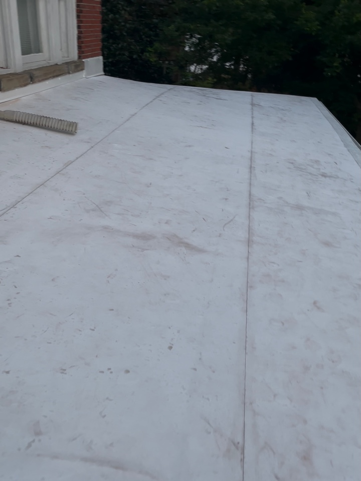 Norfolk, VA - Just completed  installing new TPO