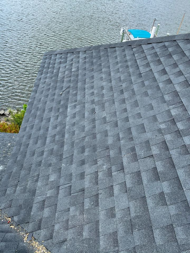 Virginia Beach, VA - Just completed eliminating a leaking skylight and close and install new board and shingle