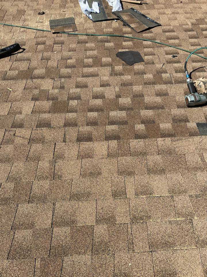 Norfolk, VA - Just completed doing a roof repair