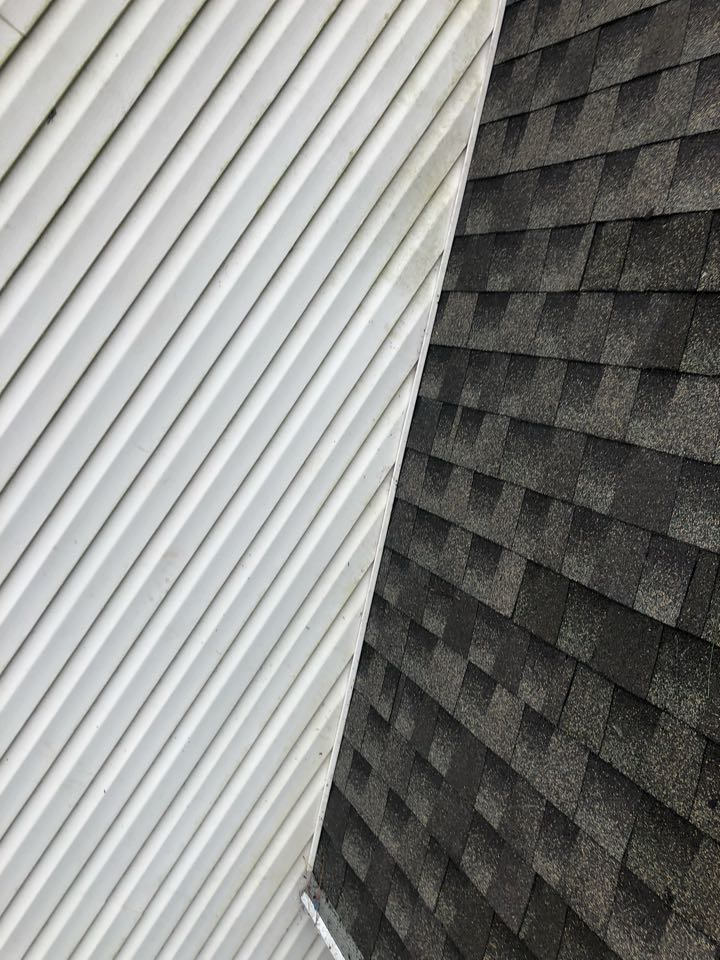 Chesapeake, VA - Just completed a roof repair install new flashing and shingle