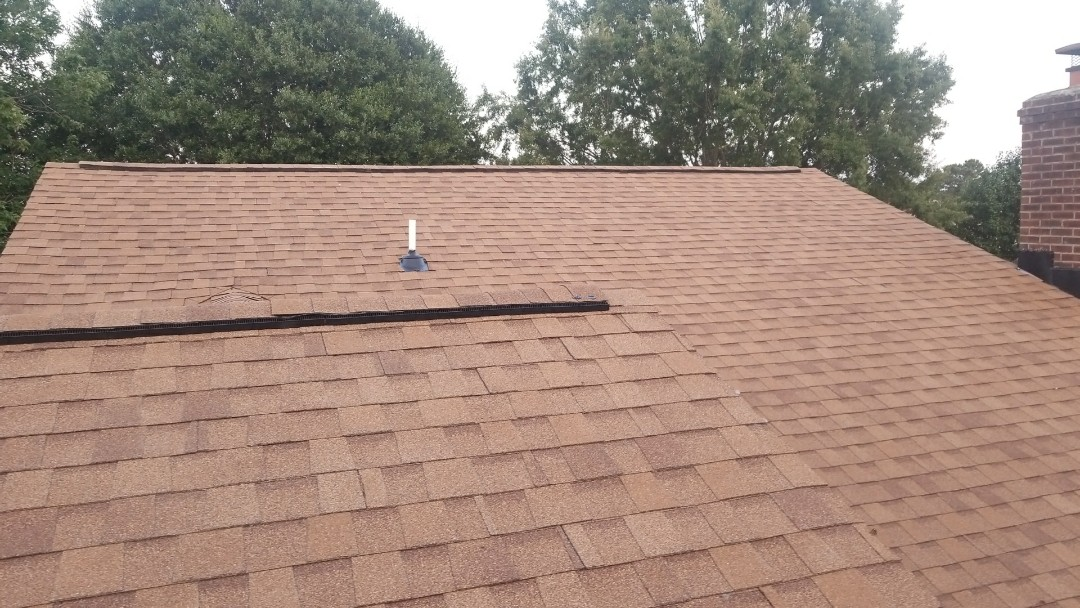 Virginia Beach, VA - New roof installation with atlas pristine desert