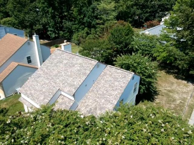 Hampton, VA - Roof replacement with Owens Corning Sand Dune
