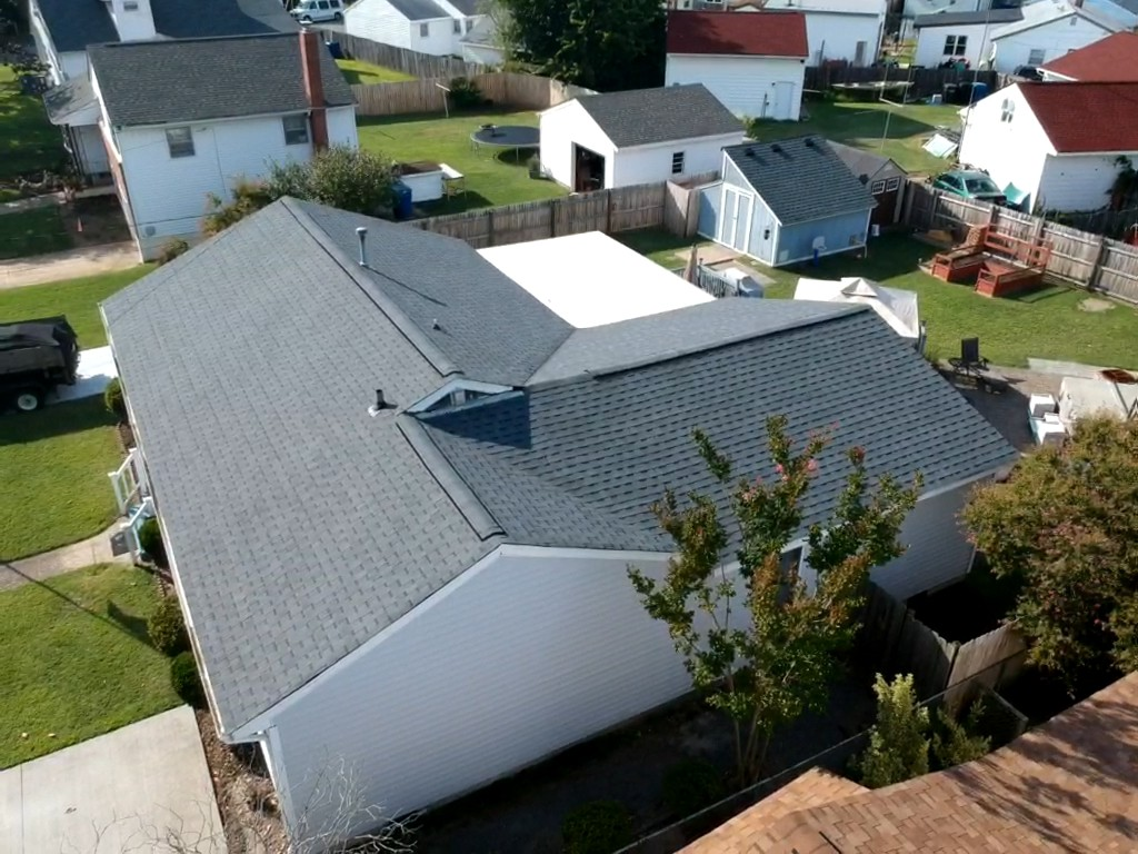 Virginia Beach, VA - Roof replacement with Atlas Pristine pewter