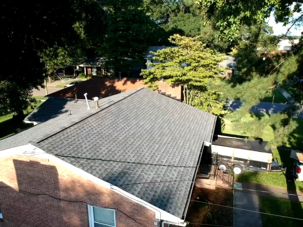 Norfolk, VA - Roof replacement with GAF HD pewter