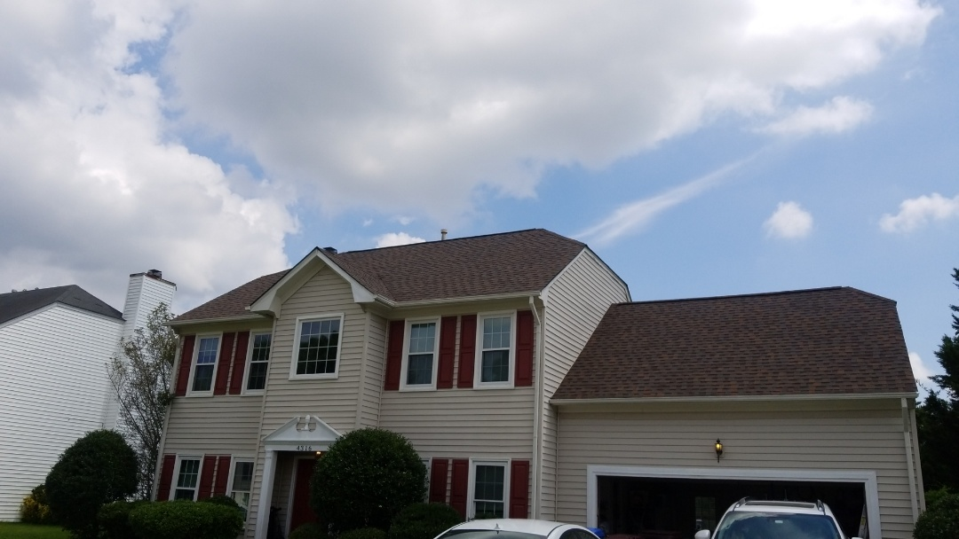 Chesapeake, VA - Roof replacement with Atlas pristine cooper canyon