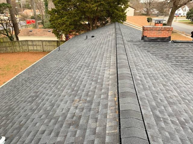 Hampton, VA - complete roof replace with GAF Timberline HD Charcoal