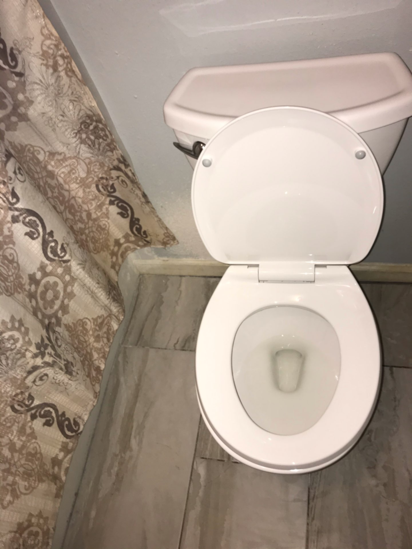 Pearland, TX - Customer provided Toilet replacement in Pearland