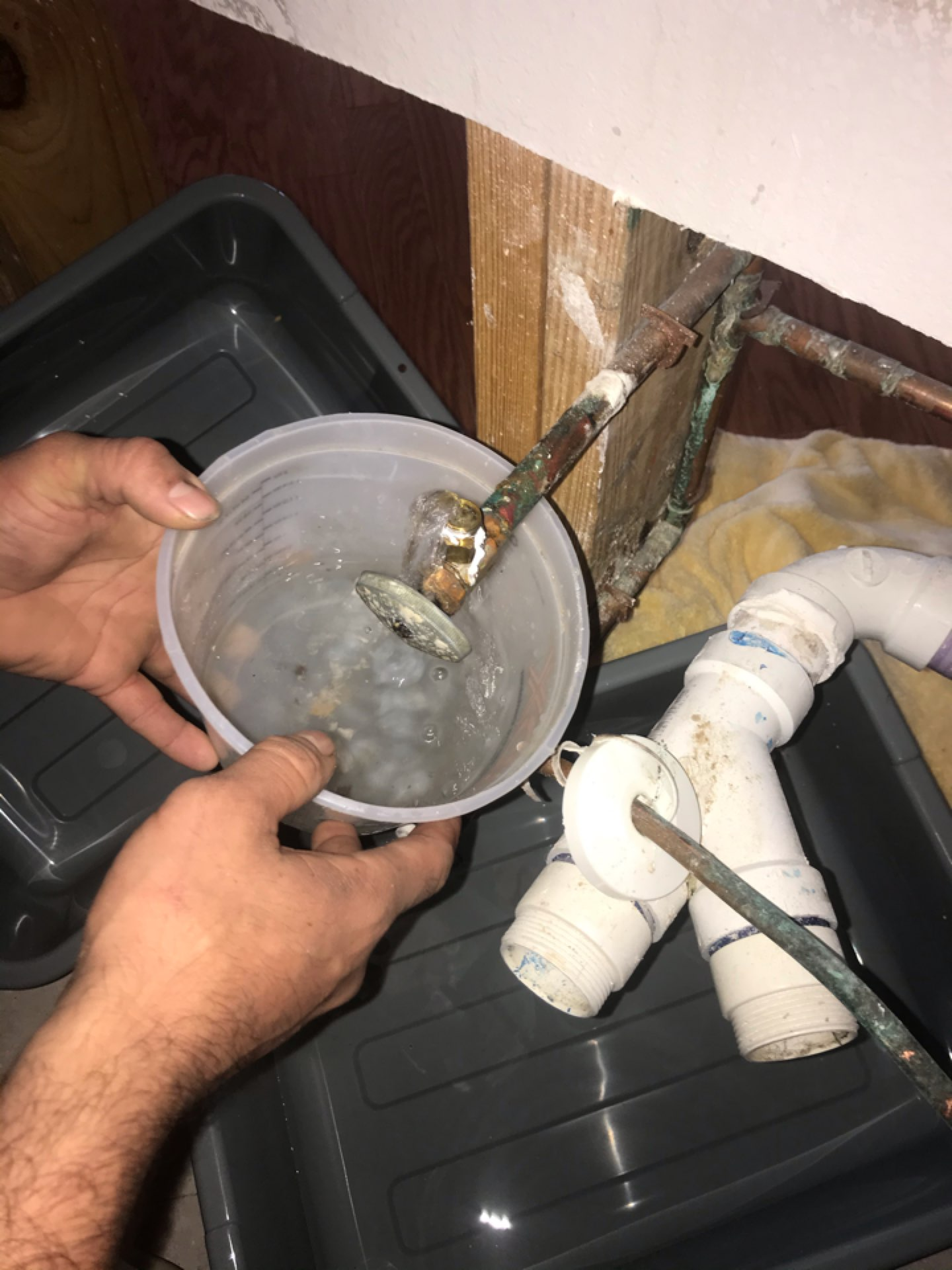 Pearland, TX - Free assessment.Emergency stop replacement in kitchen. Pearland Texas