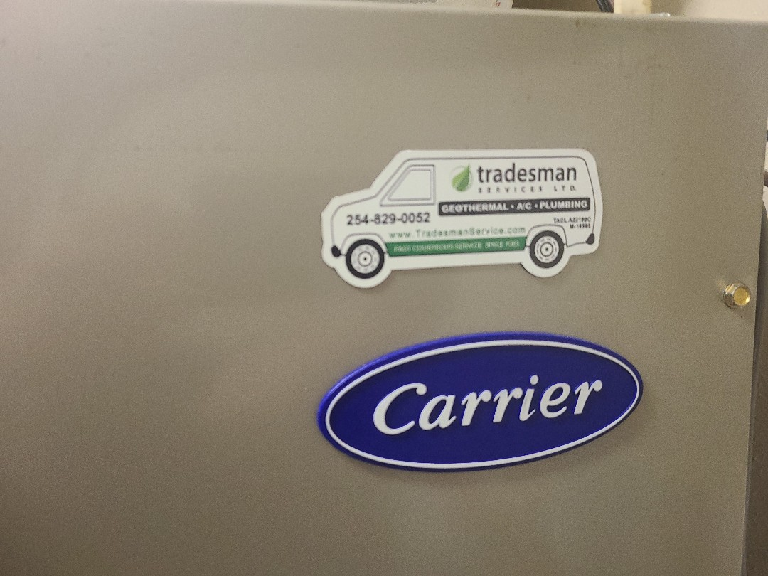 Waco, TX - Performed seasonal heating inspection on 2 Carrier heat pump systems.
