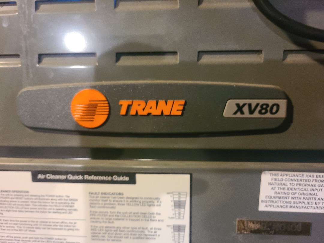 Waco, TX - Performing seasonal heating inspections on 3 Trane propane gas furnaces.