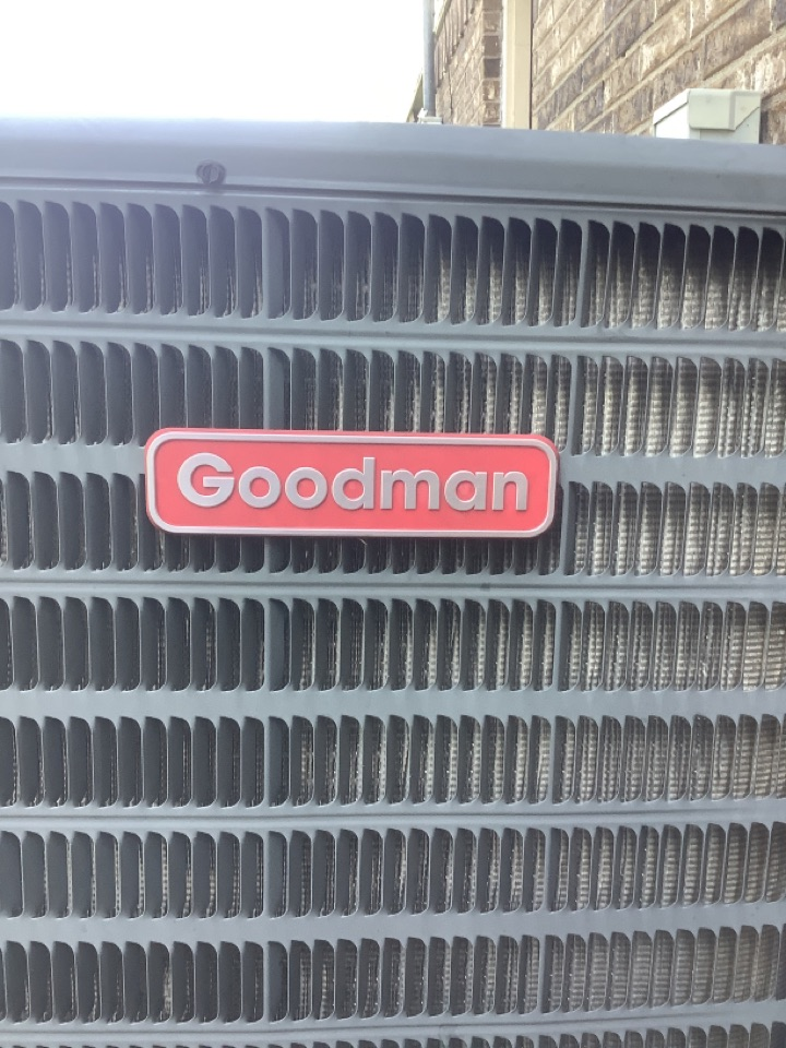 China Spring, TX - Performed seasonal cooling inspections on 1 Goodman ac and 1 bryant heat pump systems.