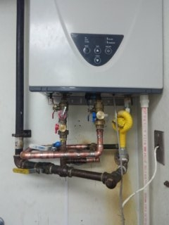Memphis, TN - Repiped water tankless water heater