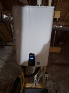 Hernando, MS - Diagnosing a tankless water heater