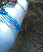Sardis, MS - Replace gas line from propane tank to house