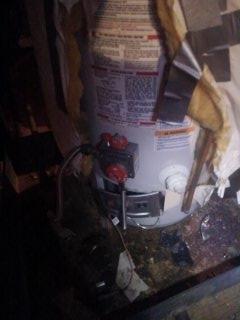 Memphis, TN - Lighting pilot light on gas water heater