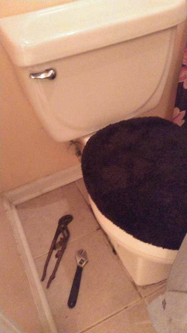 Replace wax ring on toilet