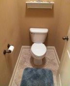 Replace fill valve in master bedroom bathroom