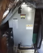 Memphis, TN - 5 Ton Air Handler with Heat Pump Installed.