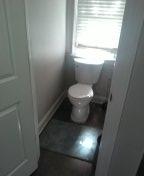Horn Lake, MS - Repaired toilet flange in bathroom