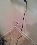 Walls, MS - Repair water line under slab in living room.