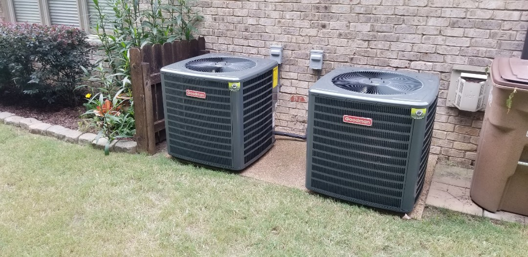 Lakeland, TN - Two 4 Ton Systems Installed.