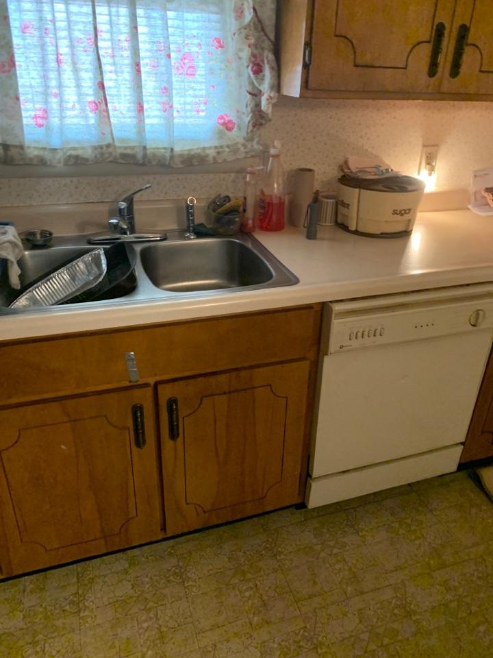 Memphis, TN - Check on leak in kitchen faucet