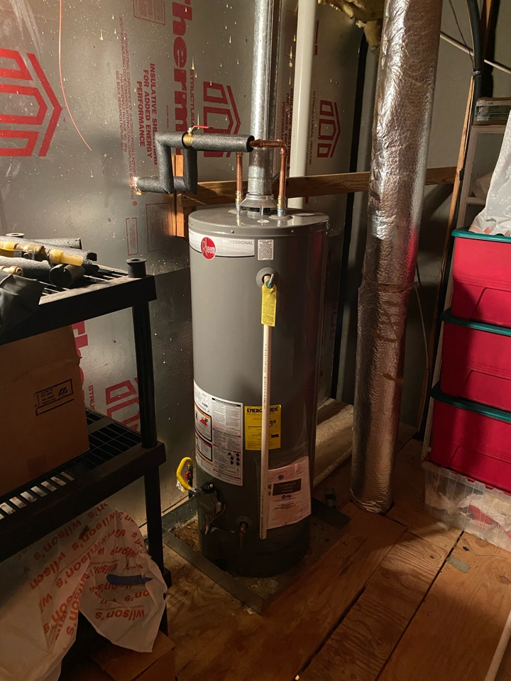 Hernando, MS - 50 gallon water heater replacement
