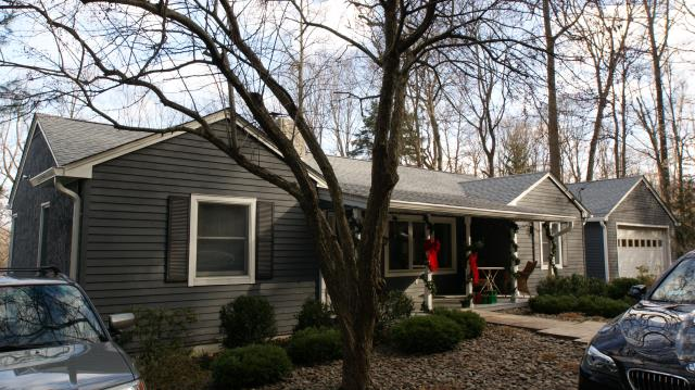 Ridgefield, CT - GAF Timberline HD architectural roof in Oyster