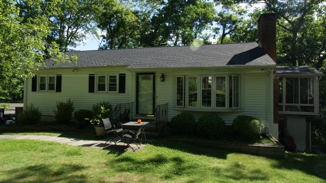 Ridgefield, CT - GAF Timberline HD architectural roof in Charcoal