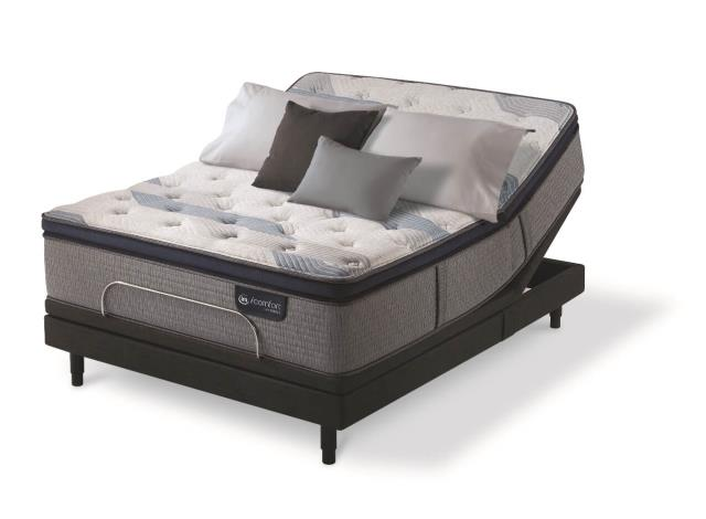 Brewton, AL - Customer was looking for a therapeutic mattress and adjustable base. She chose the Serta Icomfort Blue Fusion mattress with the Motion Perfect IV motion base.