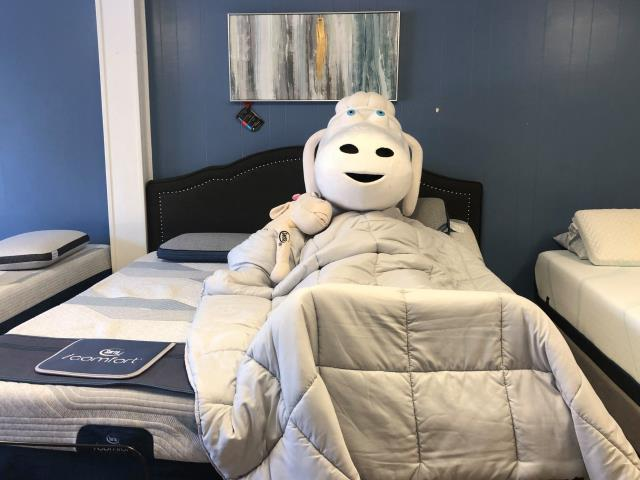 Lillian, AL - Customer was looking for a split king adjustable mattress with a base. She chose  Serta Icomfort Hybrid with the Split king Malouf base.