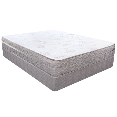Pensacola, FL - Customer came in looking for an affordable plush queen mattress set and utilized her Military Discount on a nice set by Southerland Bedding's Signature Line.