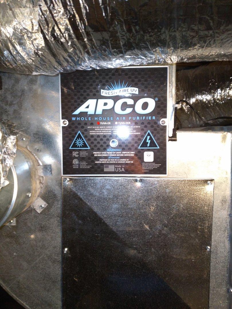 Installed UV LIGHT  Cleaned duckt work  Cleaned blower wheel