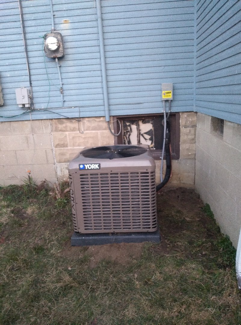 Installed air conditioning