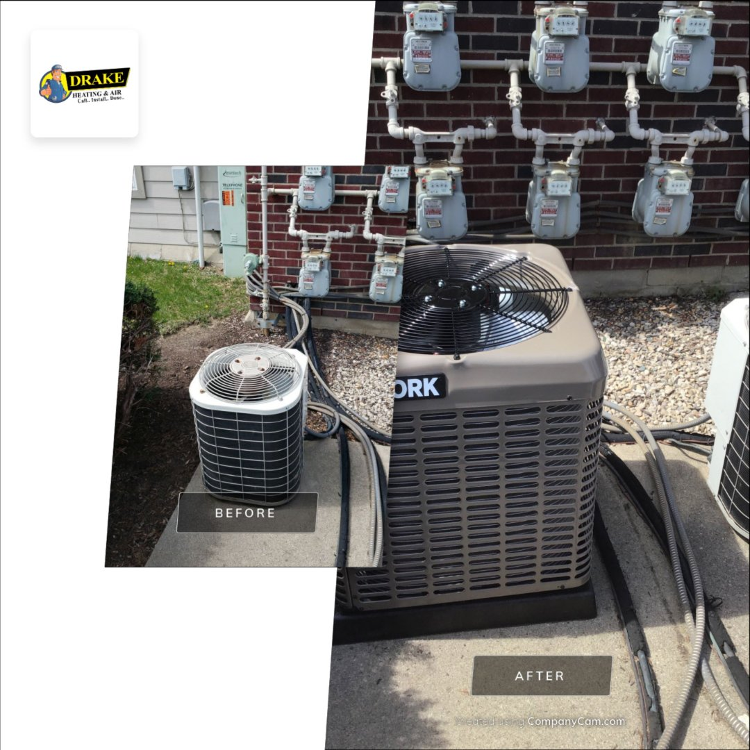 Installed new air conditioner