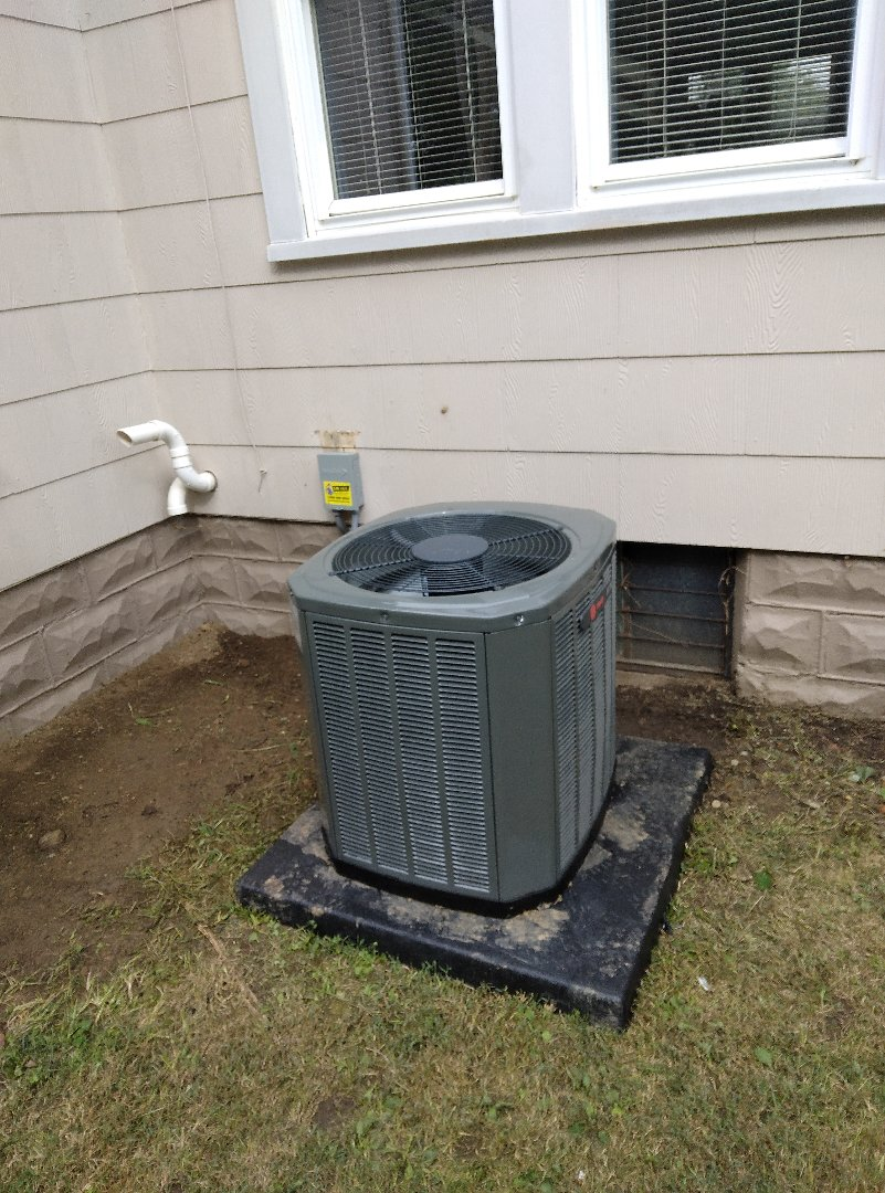 Springfield, OH - Installed new air conditioner