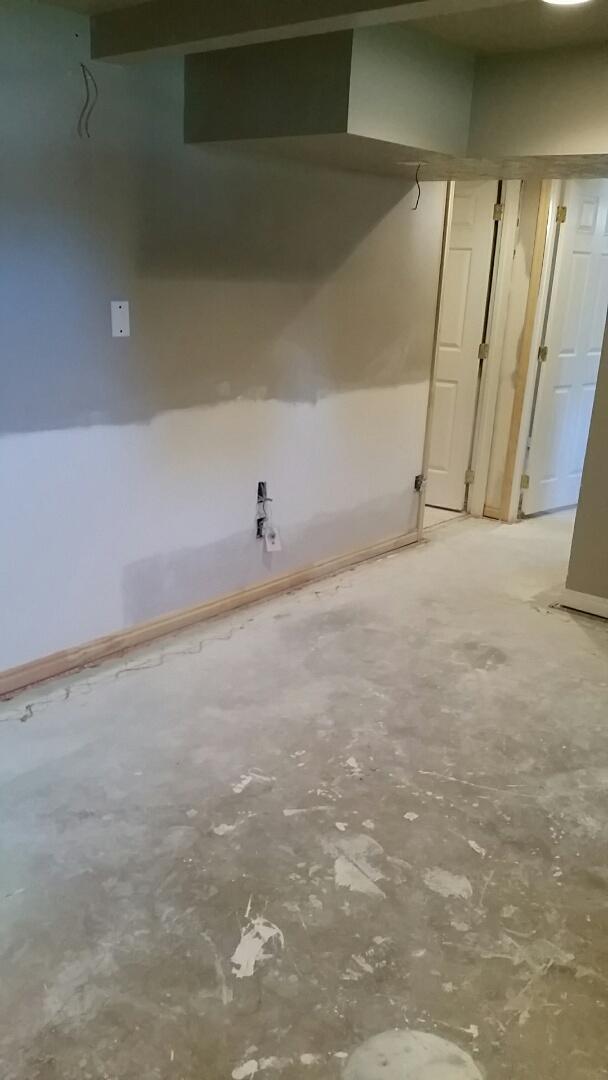 Ogden, UT - Installed Door Casing , and Baseboards.  Due to Water Damage