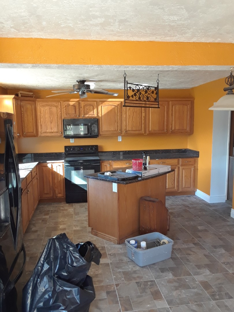 Ogden, UT - Painted a kitchen.